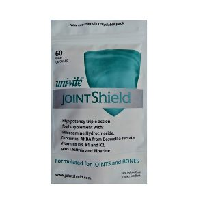 1 pack of 60 JointShield capsules for joints and bones