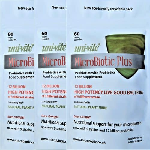 MicroBiotic Plus 3 packs Front