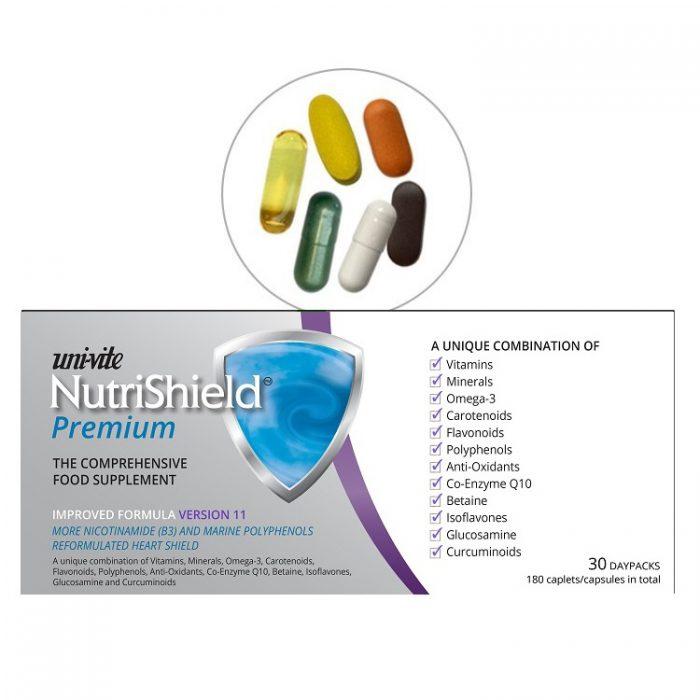 NutriShield Premium for over 50s 30-day-pack