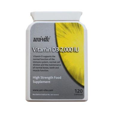 Uni-VIte Vitamin D3 2000IU