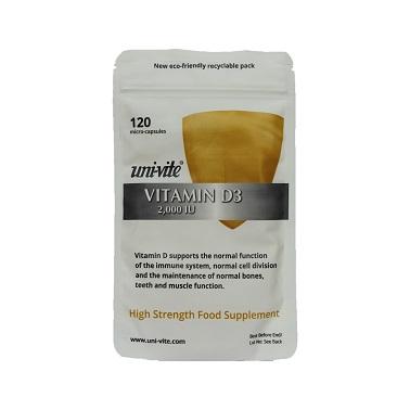 Vitamin D3 2000IU The Sunshine Vitamin